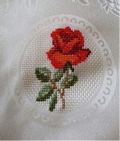 This post was discovered by Gü Cross Stitch Rose, Cross Stitch Borders, Cross Stitch Alphabet, Cross Stitch Flowers, Cross Stitching, Cross Stitch Embroidery, Cross Stitch Patterns, Hand Embroidery Flowers, Embroidery Patterns