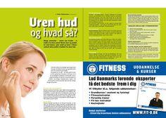 November 2011 - Fitness World spørg Danish Skin Cares Ekspert i smuk hud, Mads Timmermann om råd til bumser og uren hud behandling