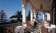 Reid's Palace, Madeira, Portugal With the legendary Orient-Express group behind it, Reid's Place has become a haven for high profile pampering. Guests can choose to bask in the stunning subtropical gardens on the Madeira islands or stretch their legs along the nearby eight-kilometre long white sand beach.