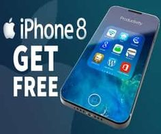 Participate iPhone competition free win an iPhone 8