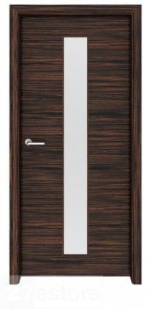 Flora 03 Interior Door Macassar | Exotic Wood Veneer Doors ...