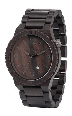 ALPHA BLACK | WeWOOD Wooden Watches
