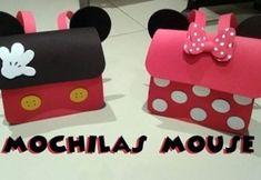 DIY Cómo hacer una mochila de minnie mouse en goma eva Eva Youtube, Diy Paper, Paper Crafts, Frozen Free, Party Giveaways, Foam Crafts, Mickey Minnie Mouse, Disney Crafts, Diy For Kids