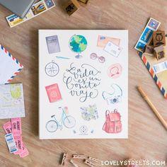 Álbum Lovely Streets - La vida es un bonito viaje - Lovely Streets