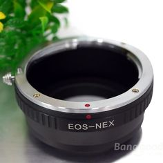 Lens Mount Adapter For Canon EF EF-S Sony NEX-5 NEX-3 NEX-VG10 Etc - €12.67