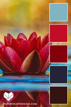 Color palettes 639863059541628551 - Color Palette: Fantastic Florals — Paper Heart Design – Source by mariyashatkovska Color Schemes Colour Palettes, Create Color Palette, Red Colour Palette, Color Trends, Color Combos, Best Color Combinations, Bright Color Schemes, Flat Design, Home Design