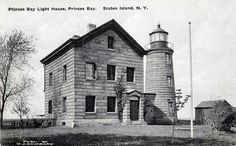 Princes Bay Lighthouse, New York at Lighthousefriends.com