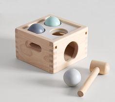 Pottery Barn Kids, Diy Sensory Board, Baby Sensory, Wooden Baby Toys, Baby Boy Toys, Girl Toys, Wooden Toys For Kids, Toys For Little Kids, Wooden Blocks Toys