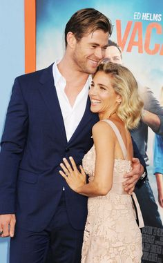 We can't handle the perfection that is Chris Hemsworth & Elsa Pataky!