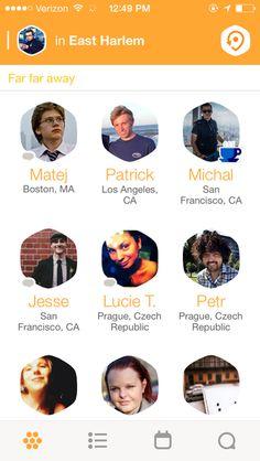 Swarm by Foursquare #friendlist #gridview