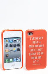 kate spade new york 'millionaire quote' iPhone 5 case