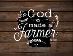 Wisconsin So God Made A Farmer State Silhoutte Wood Signs or Canvas Wall Hanging Paul Harvey Housewarming Farm, Christmas, Father's Day Gift
