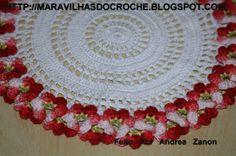 Toalhinha de Croche Delicada. | por Maravilhas Do Croche
