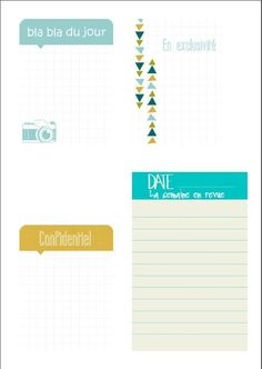 Project-life : freebies - des cartes de journaling en français !