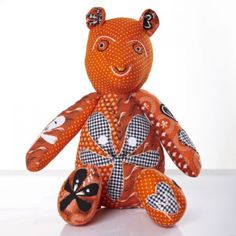 Mashozi bears The Mashozi bears are handmade and individually crafted with offcuts of Goodbye Malaria's beautiful shweshwe pyjama pants so no two are alike and, just like the pyjama pants, proceeds from every purchase at www.goodbyemalaria.com go towards the initiative's malaria prevention efforts in Mozambique.