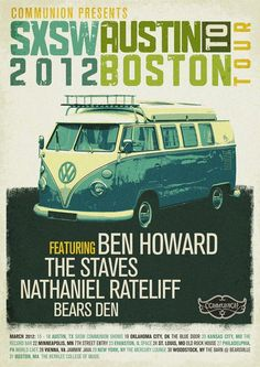 ben howard -- I realize this isn't exactly vintage but I did Richmond to Boston in a VW Bus when it was new. :)