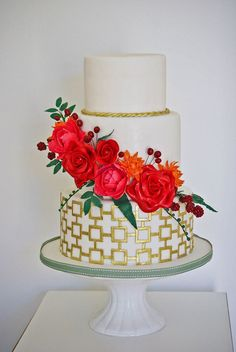 Wonderful Wedding Cakes by Edible Art Cakes of Capetown - Wesley Vorster Photography
