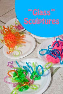 Sculptural Art Ideas for Kids [from It's Playtime] - The Imagination Tree
