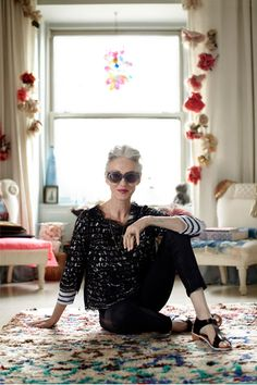 Linda Roden (NY fashion stylist & founder of Beauty Range 'Olio Lusoo'), shot for An Affair With Italy.