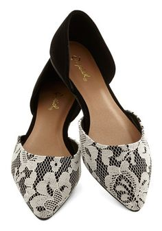 I'll Point the Way Flat in Black, #ModCloth