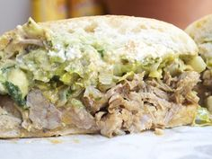 Choza Taqueria - multiple locations in the West Village and Flatiron.  Try the tortas, vegetarian or not, or the carnitas.
