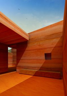 Rammed Earth walls - make it a feature wall