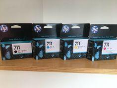 HP Designjet Inks T120 T520 / No. 711 CZ129A CZ130A CZ131A CZ133A #HP