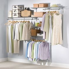 Closet Kits | Configurations | Home Free | Closet Organization | Rubbermaid  | For The Home | Pinterest | Closet Organization, Organizations And  Organizing
