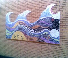 school ceramic  mural projects | Raburn Mosaic Project installed at the Gateway School near Towcster ...