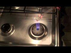 Cocción en la hornalla de la cocina, esmaltes sobre metal, Plantillado s...