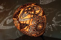 Hey, I found this really awesome Etsy listing at https://www.etsy.com/listing/213131245/handmade-stirring-calabash-lamp-celtic