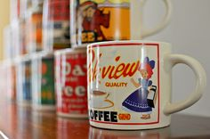 Westwood Yesteryear Mugs