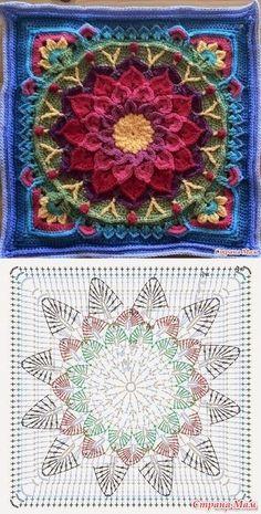 Mandala: Crochet Motifs…♥ Deniz ♥ – Love Amigurumi Mandala: Crochet Motifs…♥ Deniz ♥ – Love Amigurumi,Crochet *Mandala* Mandala: Crochet Motifs…♥ Deniz ♥ Related posts:VSCO - holy shit that's a lot of repubs Crochet Mandala Pattern, Crochet Motifs, Crochet Blocks, Granny Square Crochet Pattern, Crochet Diagram, Crochet Stitches Patterns, Crochet Chart, Crochet Squares, Free Crochet