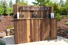 K&K Wedding Beer Bar