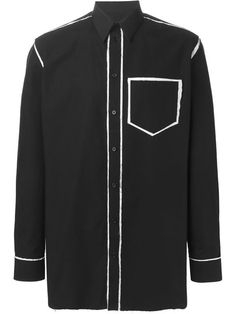 Givenchy deconstructed shirt