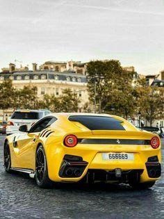 Ferrari F12 Tdf, Ferrari Mondial, F12 Berlinetta, Yellow Car, Pretty Cars, Power Cars, Sweet Cars, Car Manufacturers, Amazing Cars