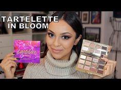 Tarte Tartelette In Bloom Palette First Impression and Tutorial - TrinaDuhra - YouTube