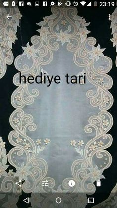 Aynur's media content and analytics White Embroidery, Embroidery Patterns, Cutwork Saree, Romanian Lace, Busse, Satin Flowers, Bargello, Table Runners, Needlework
