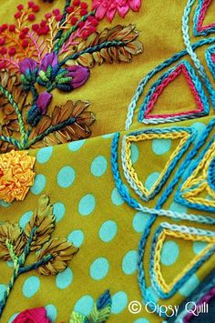 Gypsy Quilt: GIPSY COLORS