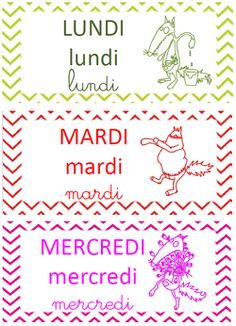 semaine du Loup qui Circle Time, Teaching French, How To Know, Preschool, Activities, Education, Montessori, Alphabet, Cycle 1