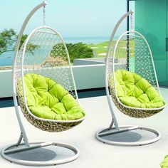 Found it at AllModern - Encounter Swing Chair with Stand