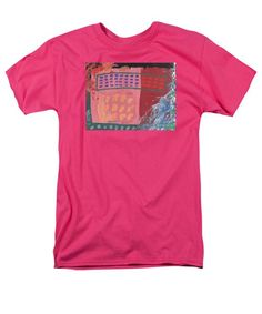 Abstract Men's T-Shirt  (Regular Fit) featuring the painting Beginners by Noa Yerushalmi