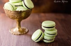 not only is this a delicious recipe for chocolate mint macarons but also all the tips and tricks I learned when making these for the first time