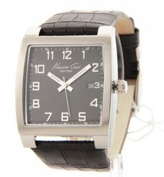 Kenneth Cole Japanese Quartz Stainless Steel Watch #KC1813 (Watch)