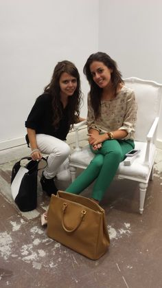In Las Rozas Village with 1 silla para mi bolso( Silvia Navarro)
