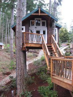 1437 best rustic weekend images log home tree houses treehouse rh pinterest com