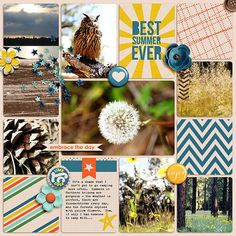 Layout using {Best Summer Ever} Digital Scrapbook Collection by Amanda Yi Designs available at The Digital Press http://shop.thedigitalpress.co/Amanda-Yi-Designs/ #amandayidesigns