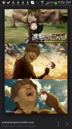 Sorry not sorry. Xiuhan. This is just too funny...