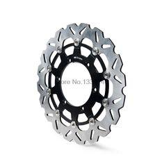 Motorcycle 320mm Floating Front Brake Disc Rotor For Yamaha WR125 WR250 WR250F WR450F TT600/R Motorbike Front Brake Disc Rotor #Affiliate