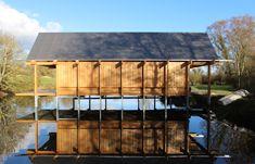 Niall McLaughlin Architects | Cabaña de Pesca | The Fishing Hut | Hampshire, Reino Unido | 2014 |